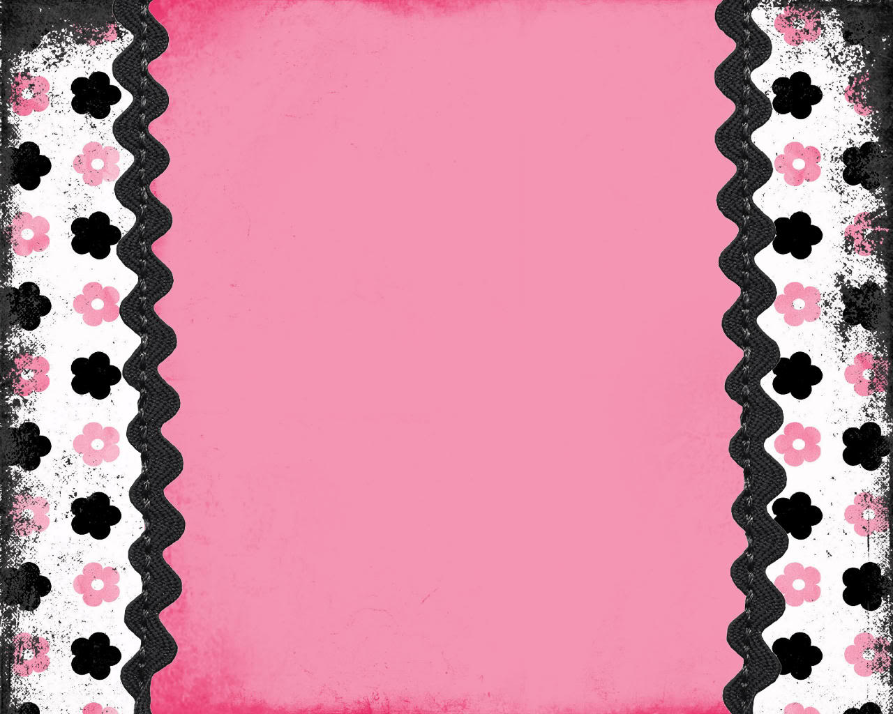 Black and pink wallpaper borders 15 background for Wallpaper borders