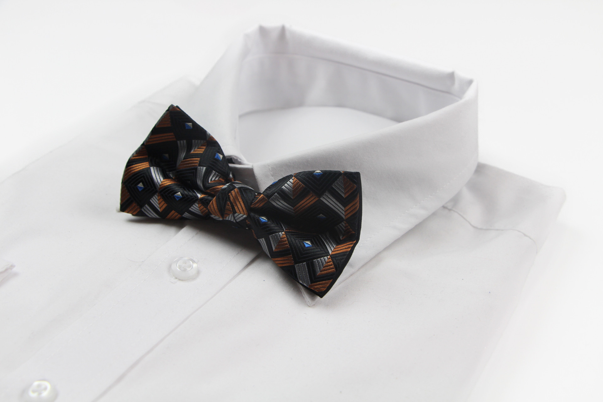 Black And Silver Bow Tie 19 High Resolution Wallpaper