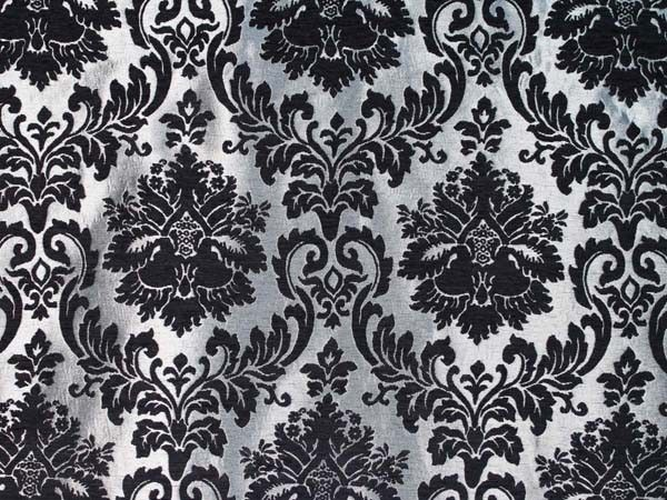 Black and silver damask wallpaper 12 background for Black and silver wallpaper