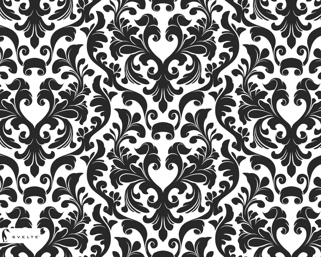 Black and silver damask wallpaper 23 free wallpaper for Damask wallpaper