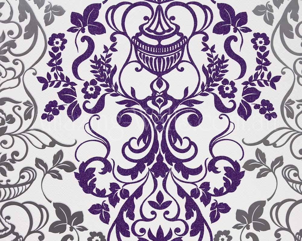 Black And Silver Damask Wallpaper 26 Free
