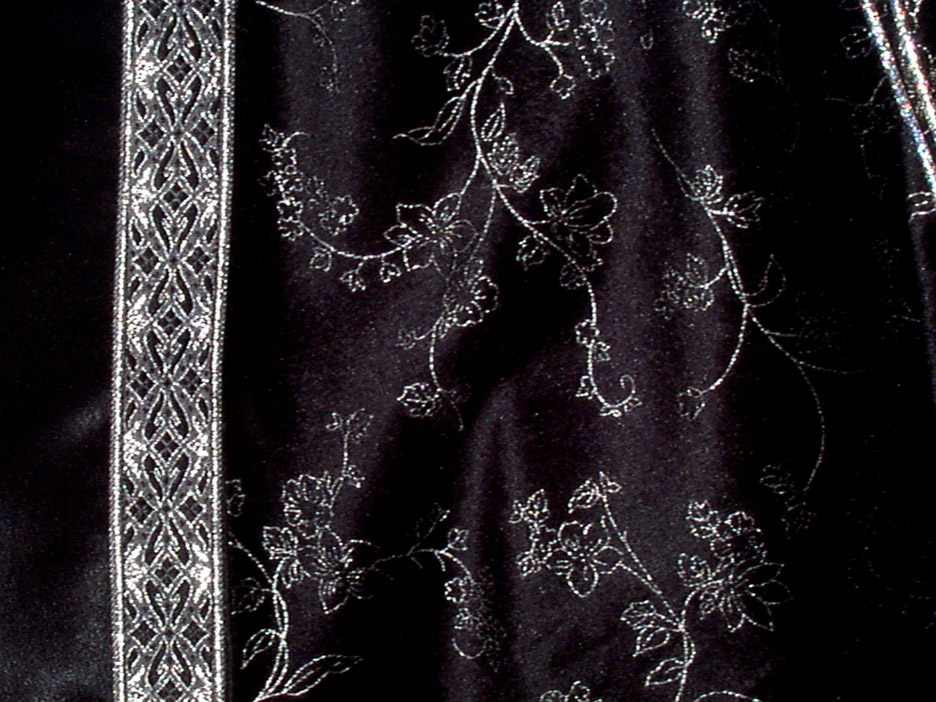 Black and silver fabric 35 free wallpaper for Black and silver wallpaper