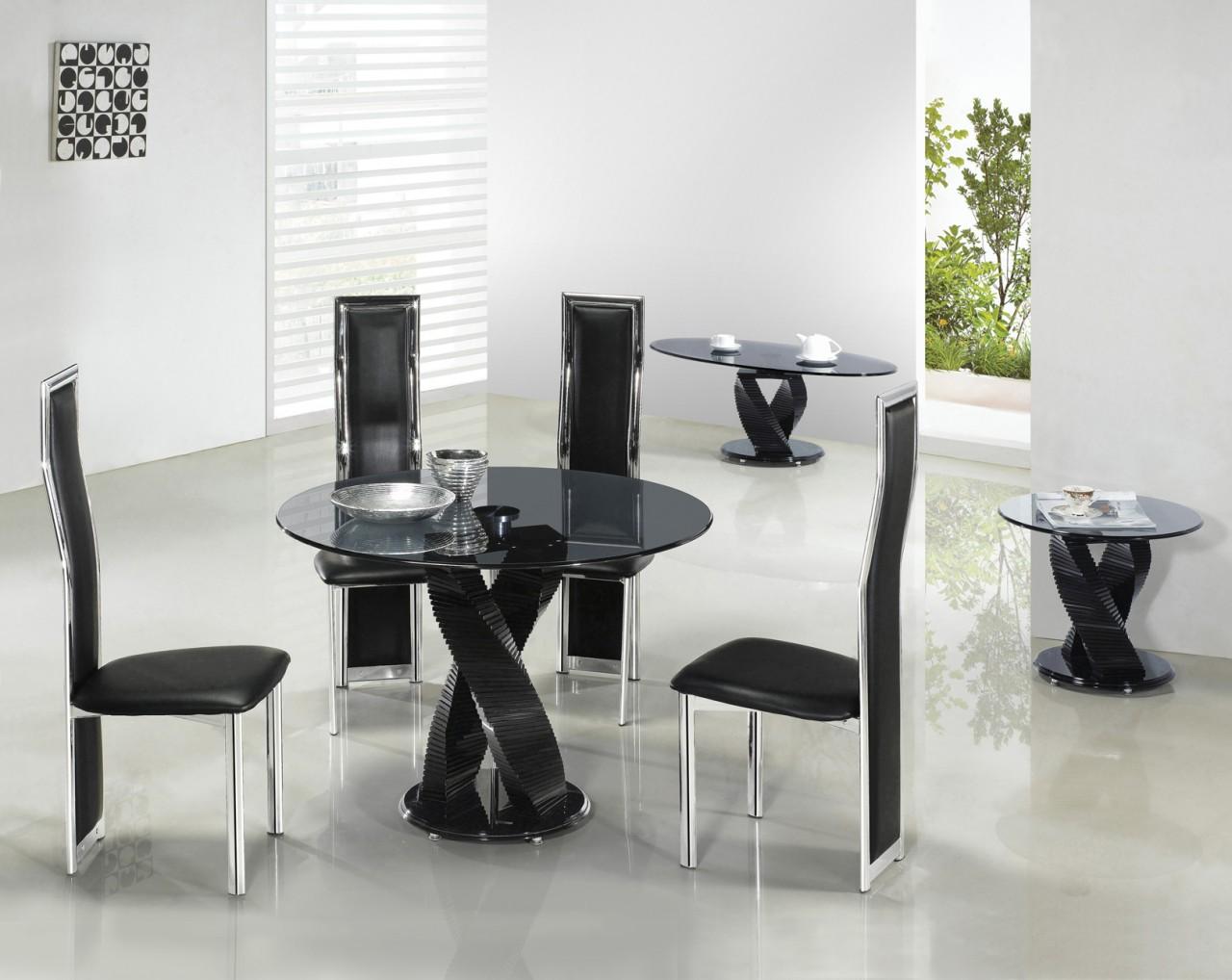 Black And Silver Furniture 33 Widescreen Wallpaper