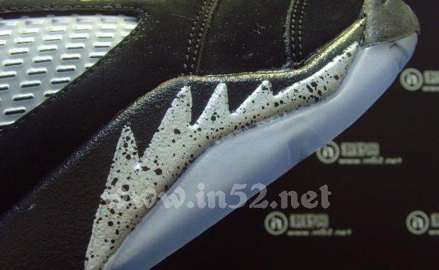 Black And Silver Jordan 7  18 Desktop Wallpaper