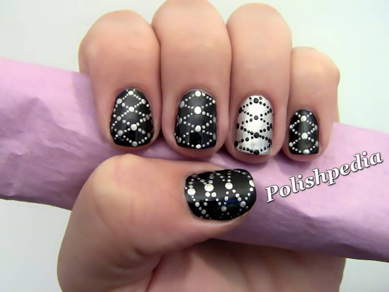 Black And Silver Nails 31 Hd Wallpaper - Black And Silver Nails 31 Hd  Wallpaper - - Silver Nails Designs Graham Reid