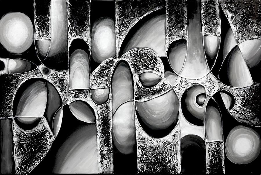 Black And White Art 34 Background - Hdblackwallpaper.com