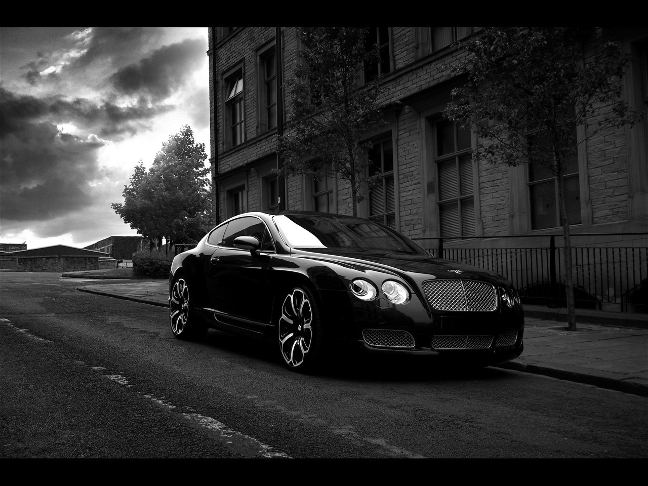 Black Cars Wallpaper 7 Background: Black And White Cars 42 Background Wallpaper