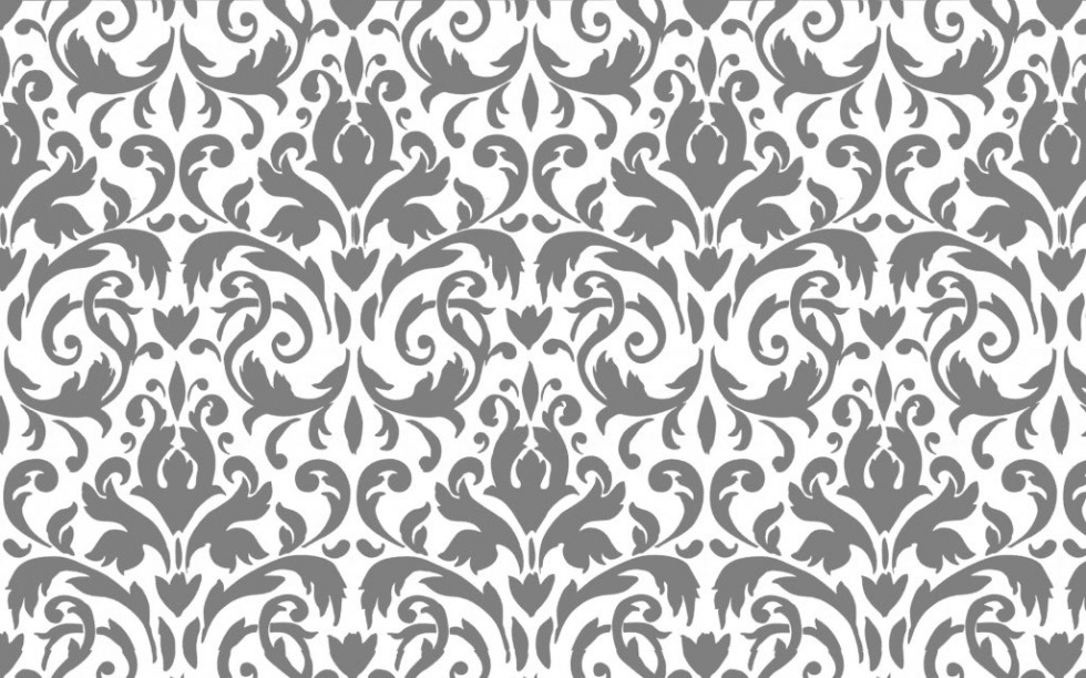 Black And White Damask Wallpaper 26 Widescreen