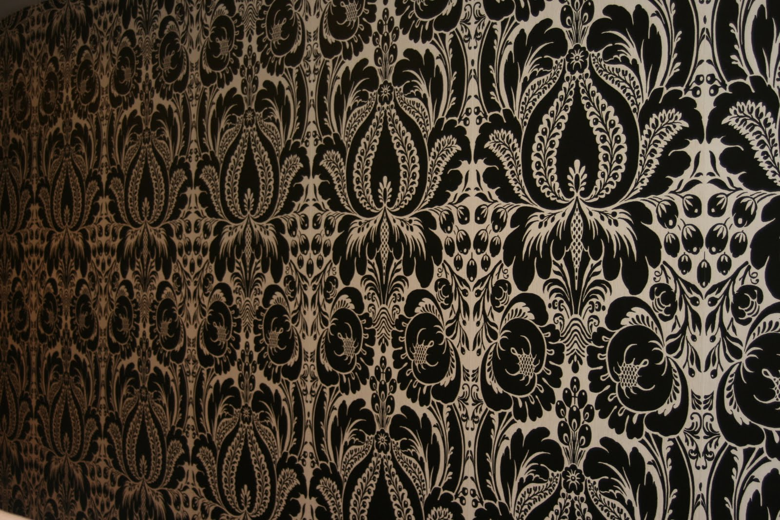 brown and white damask wallpaper gadget and pc wallpaper