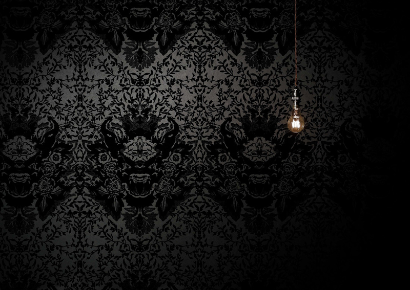 Black And White Damask Wallpaper 14 Background