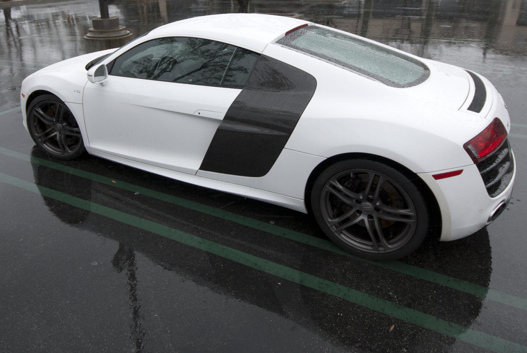 Luxury Vehicle: Black And White Exotic Cars 1 Background