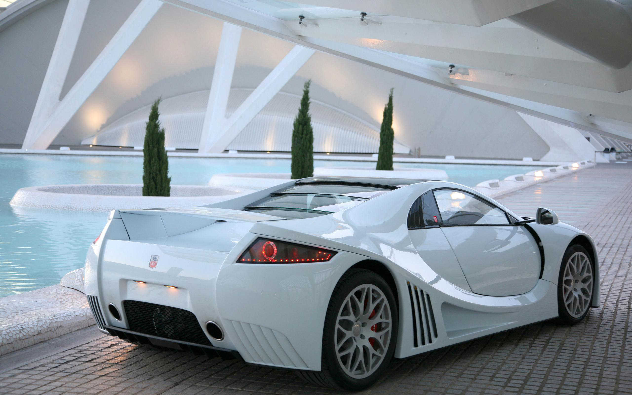 Luxury Cars: Black And White Exotic Cars 16 Background