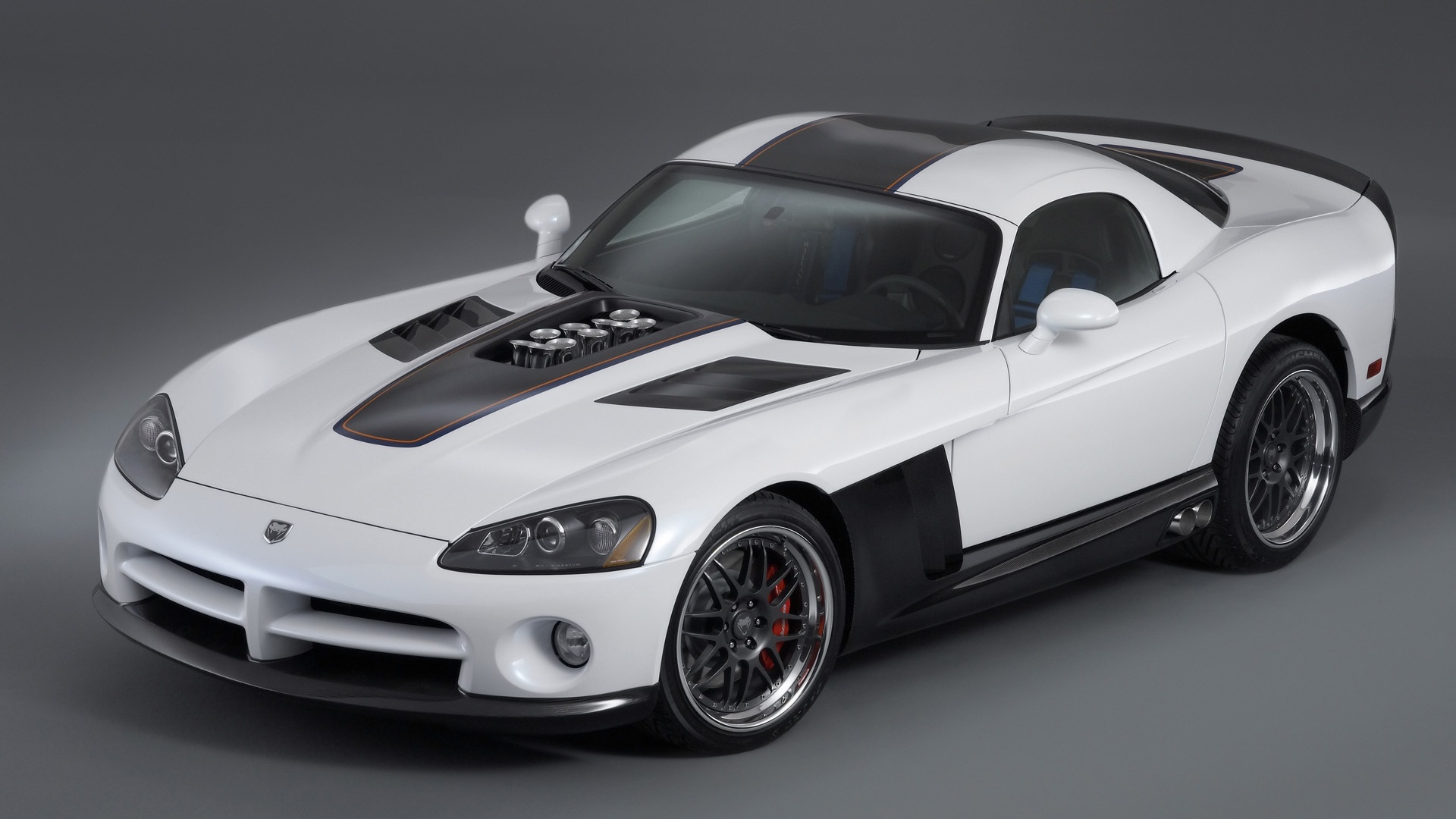 Luxury Vehicle: Black And White Exotic Cars 4 High Resolution Wallpaper