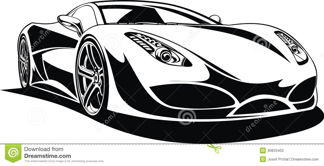 Black And White Exotic Cars 4 High Resolution Wallpaper ...
