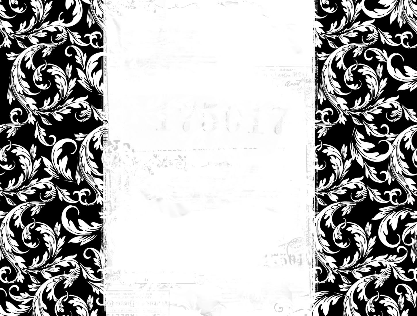 Black And White Wallpaper Border 8 Background Wallpaper