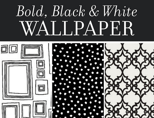 Black And White Wallpaper For Bathroom 2 Background