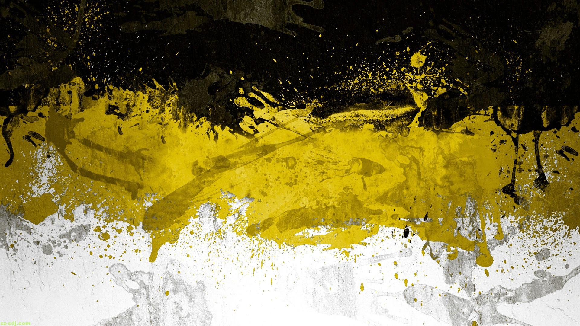 Black And Yellow Wallpapers  3 Widescreen Wallpaper