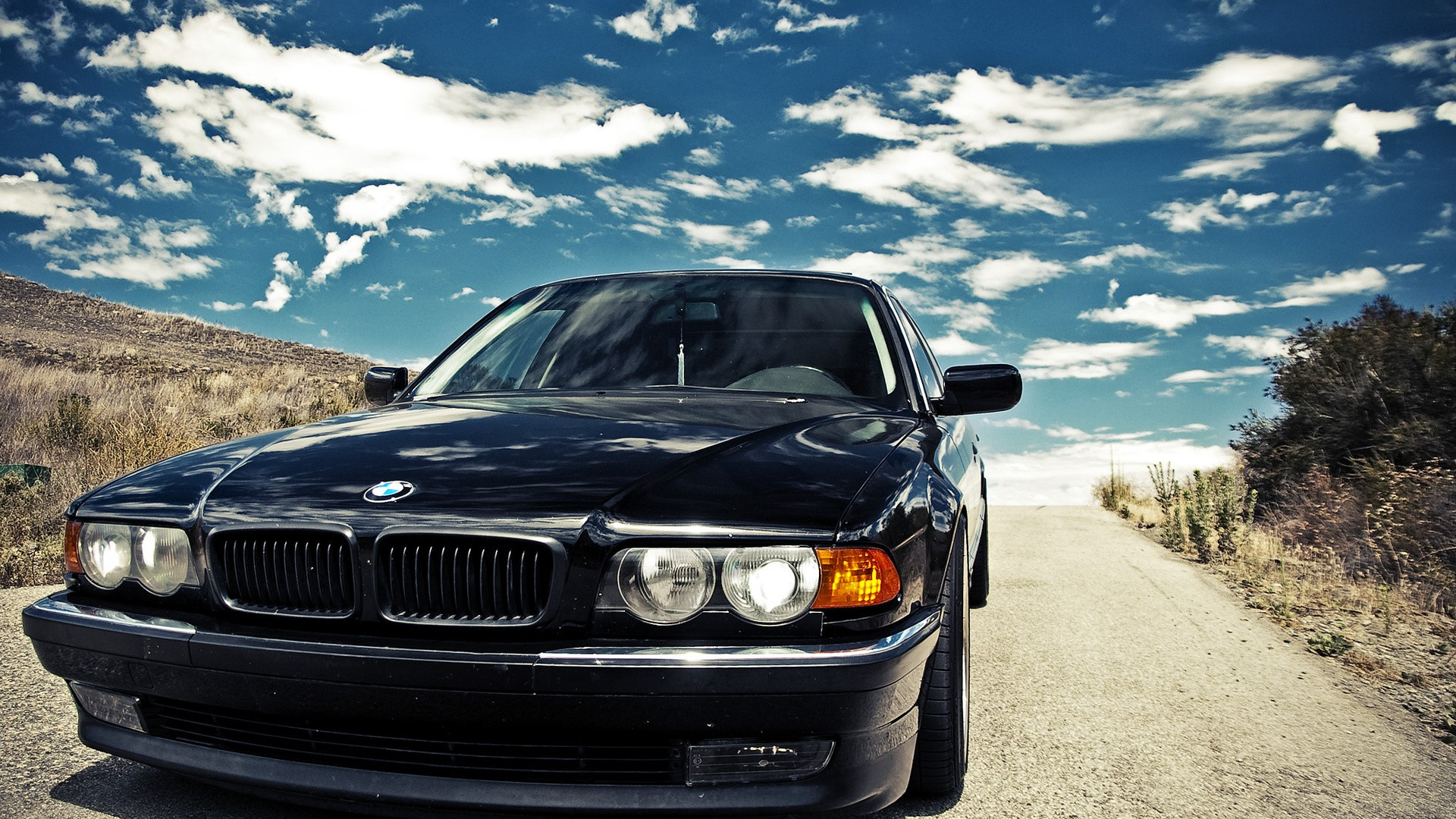 Bmw Hd Wallpapers Background: Black Bmw Wallpaper 27 Background