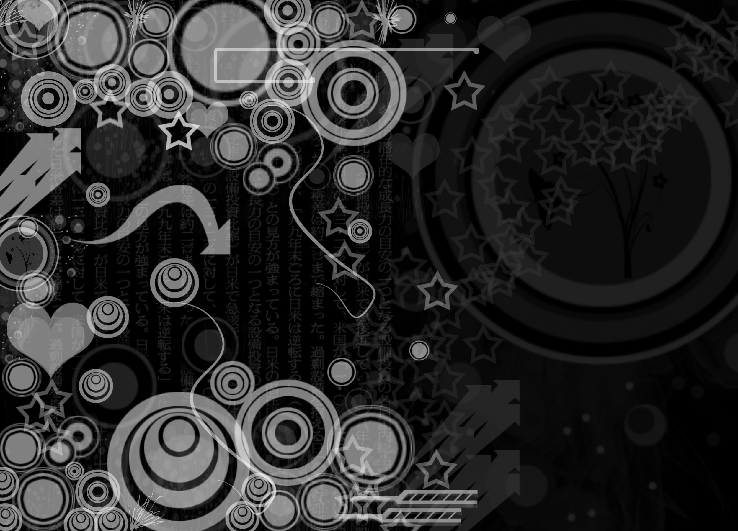 Black and white design background