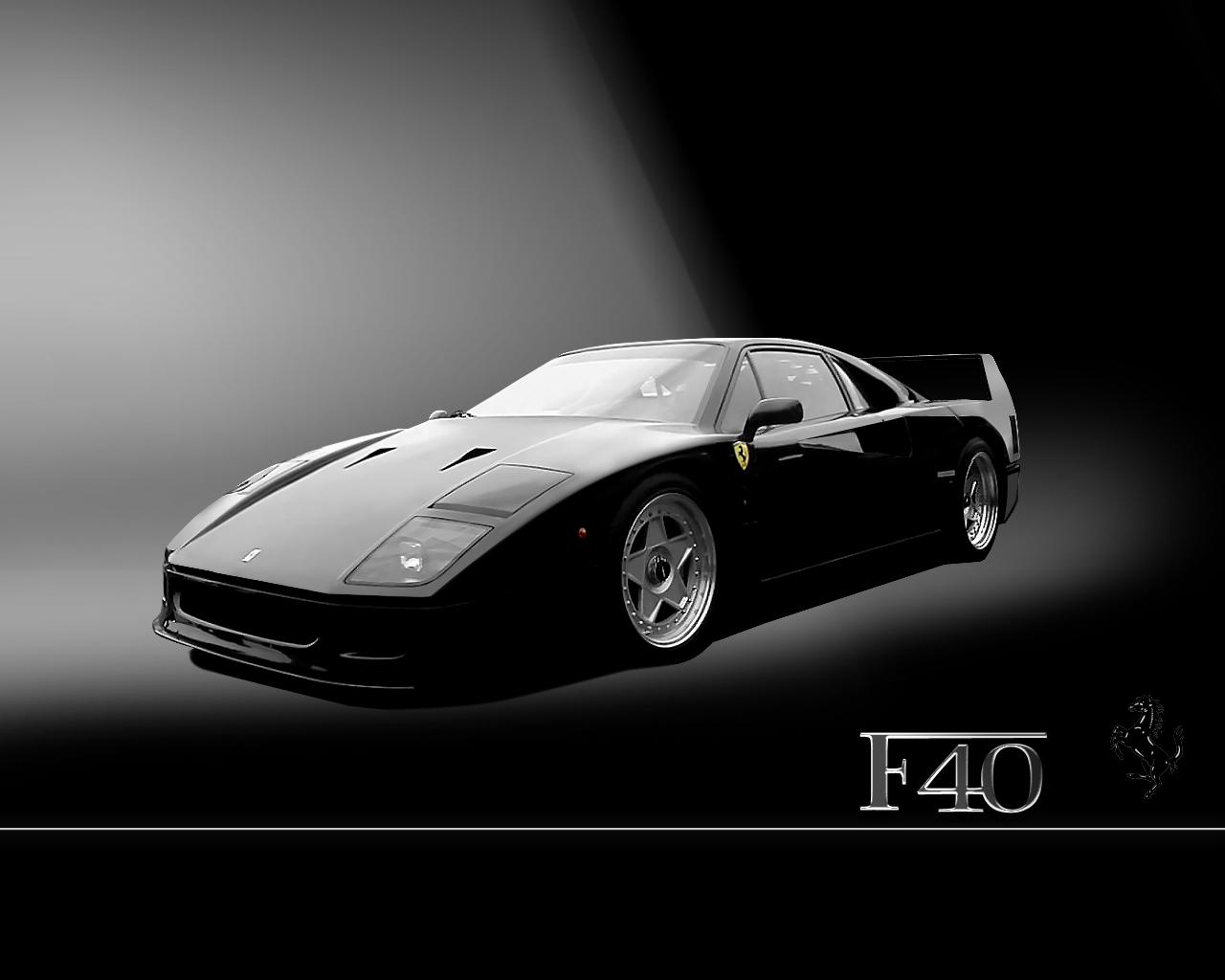 Black Ferrari Wallpaper 11 Background