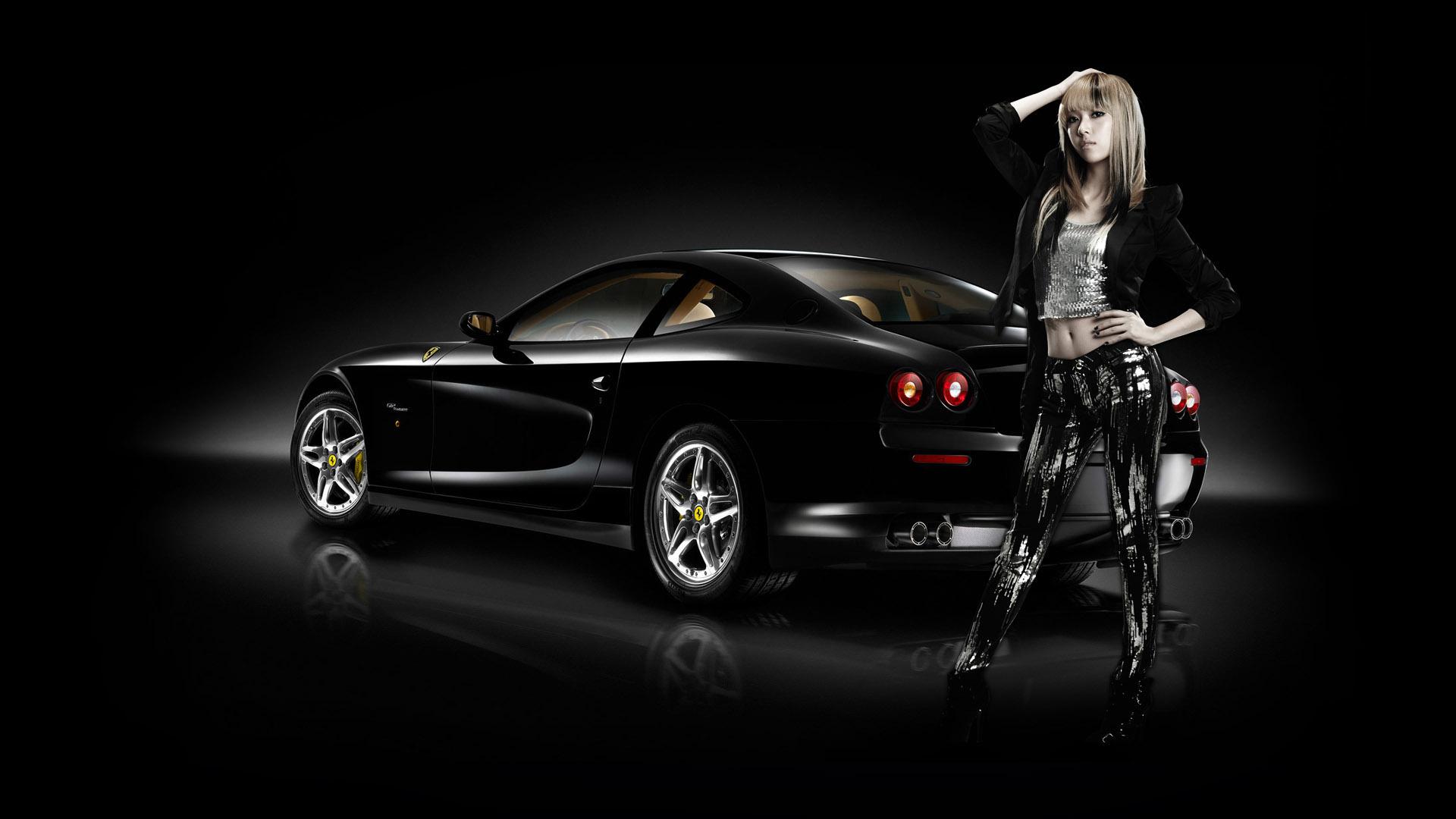 Black Hot Cars Wallpaper 29 Desktop Wallpaper
