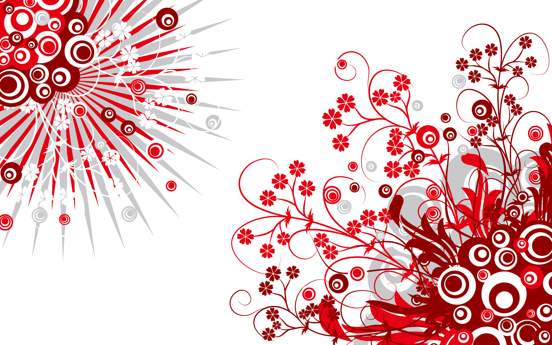 Black Red And White Wallpaper 1 Wide