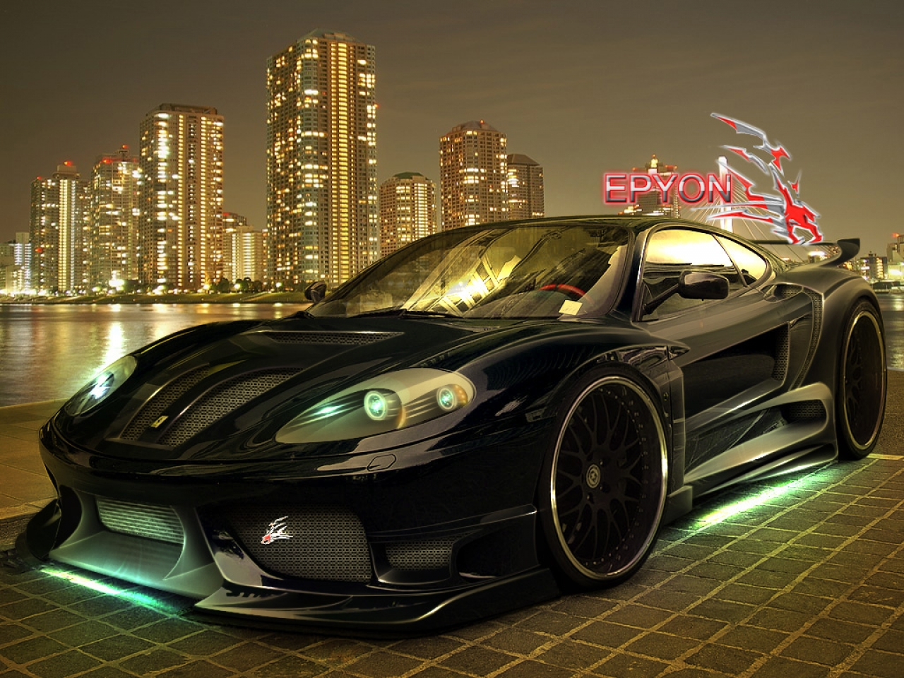 Sport Wallpaper Black: Black Sport Cars Wallpapers 21 Cool Wallpaper