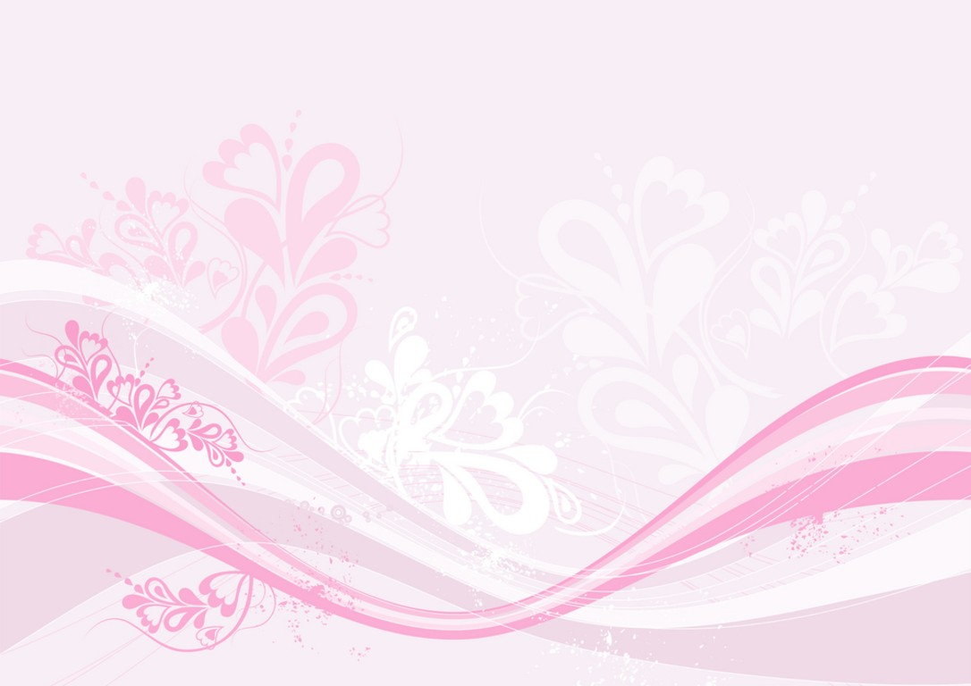 white and pink wallpaper - photo #8