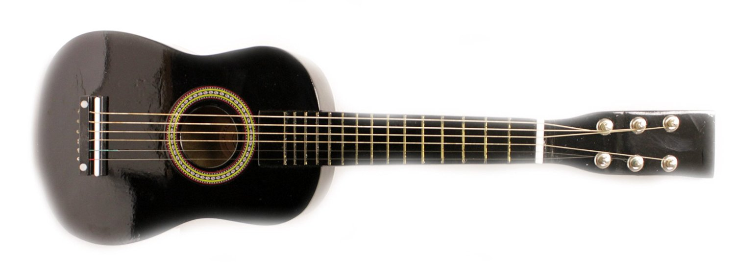 Blue And Black Acoustic Guitar 26 High Resolution ...