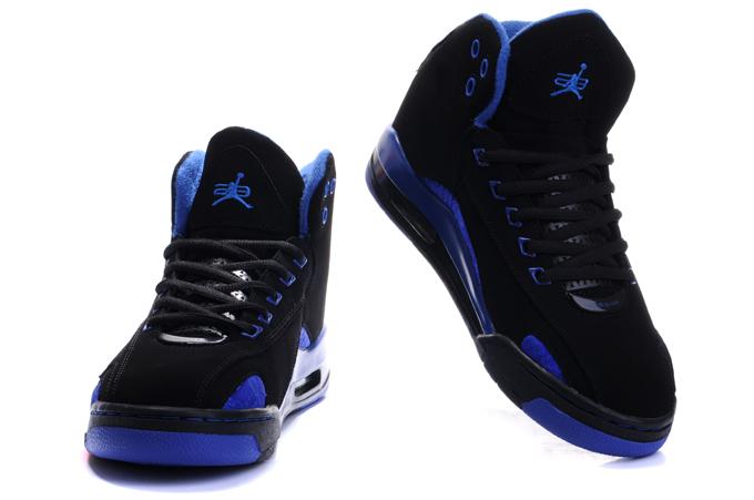 Blue And Black Jordans  3 Cool Hd Wallpaper