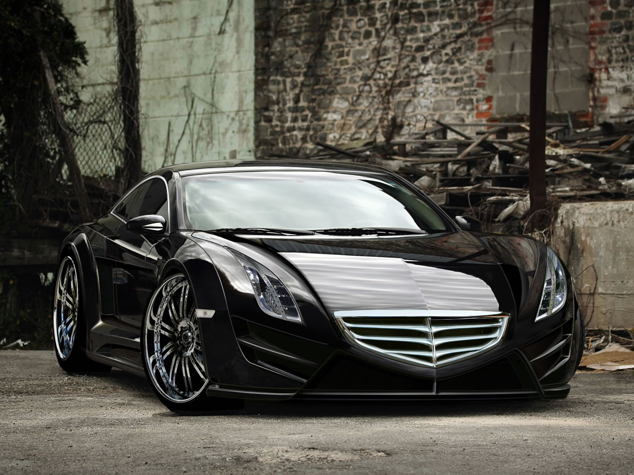 Black Cars Wallpaper 7 Background: Cool Black Car Wallpapers 9 Hd Wallpaper
