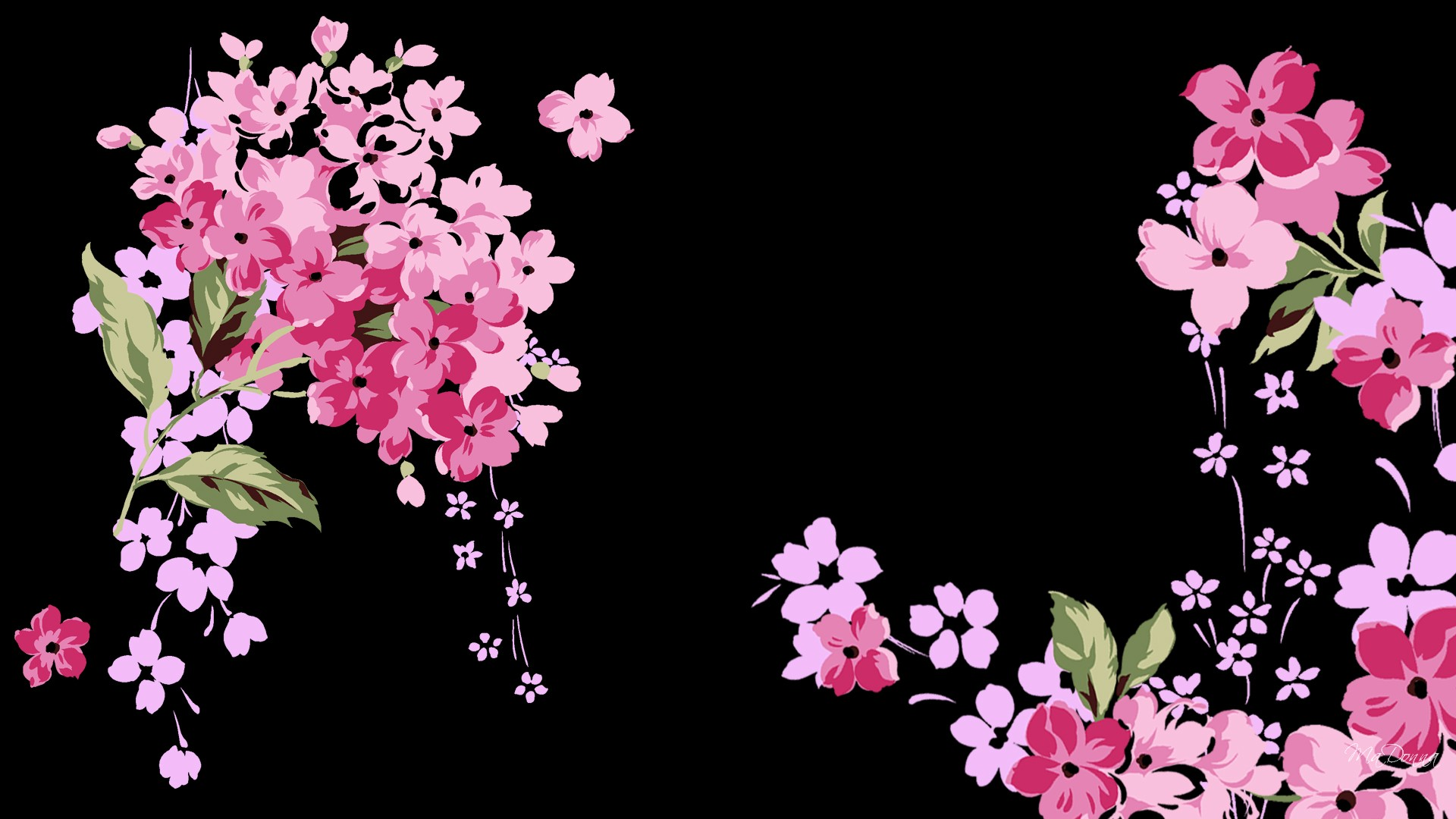 Cute Black And Pink Wallpaper 1 Free Wallpaper ...