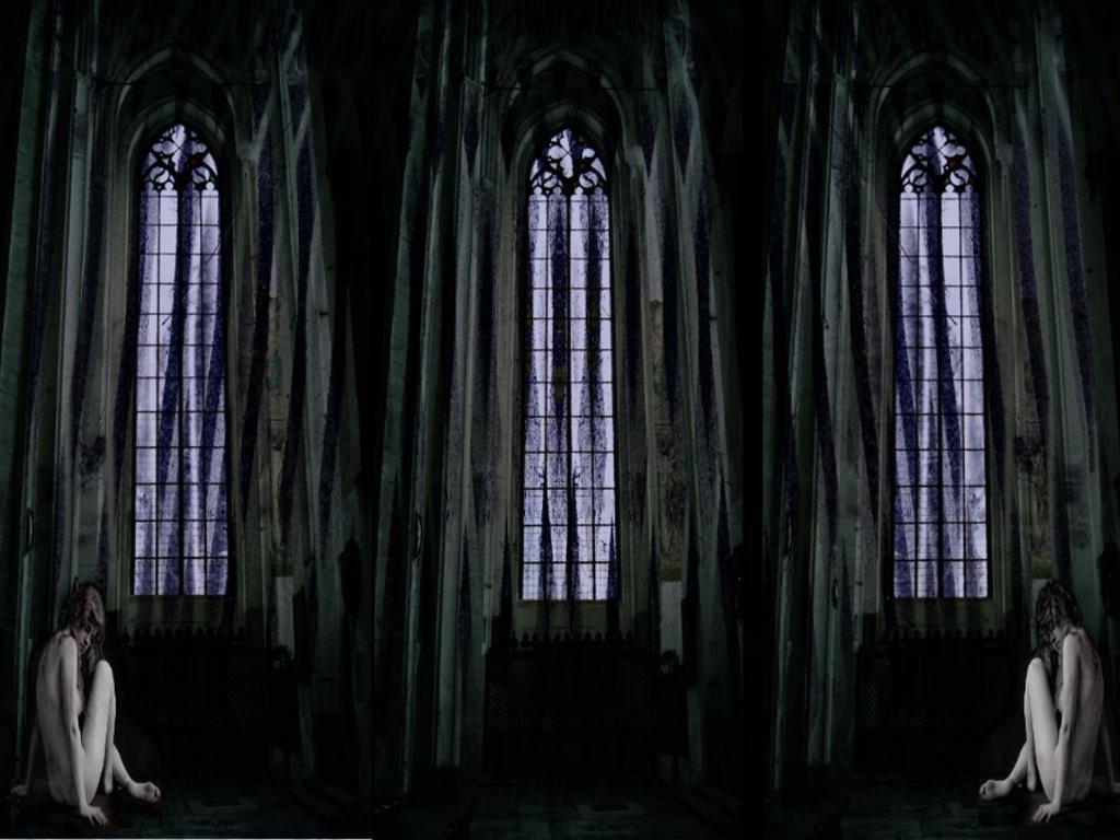 Gothic wallpaper for home 1 desktop wallpaper for Black home wallpaper
