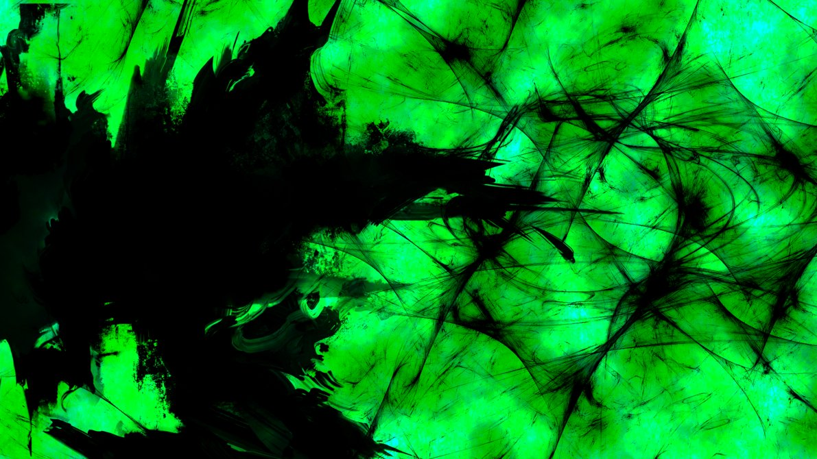 Green And Black Abstract Wallpaper 19 Background ...