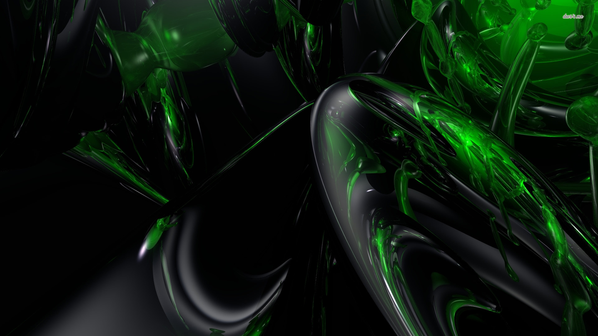 Green And Black Abstract Wallpaper 42 Wide Wallpaper ...