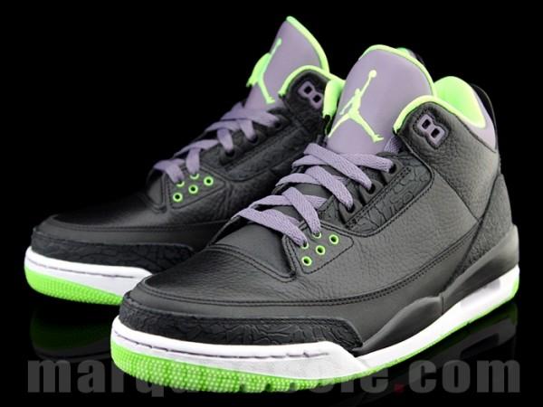 Green And Black Jordans  13 Desktop Wallpaper