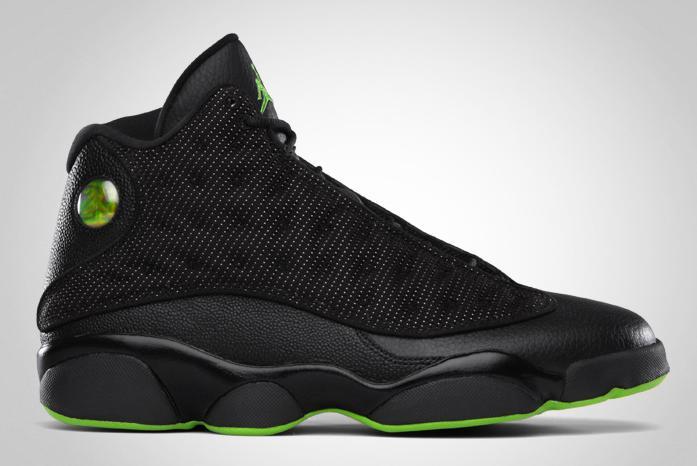 Green And Black Jordans  14 Desktop Background