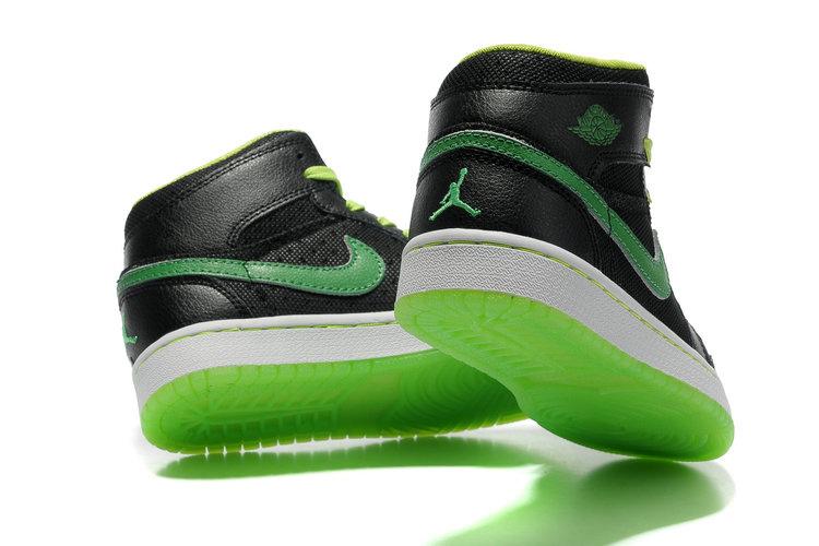 Green And Black Jordans  17 Desktop Wallpaper