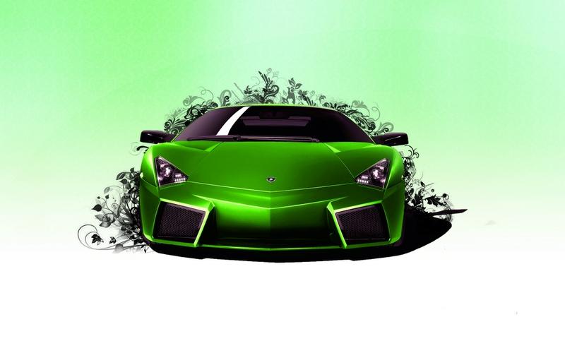 Lamborghini Murcielago Abstract Car 2013 | El Tony