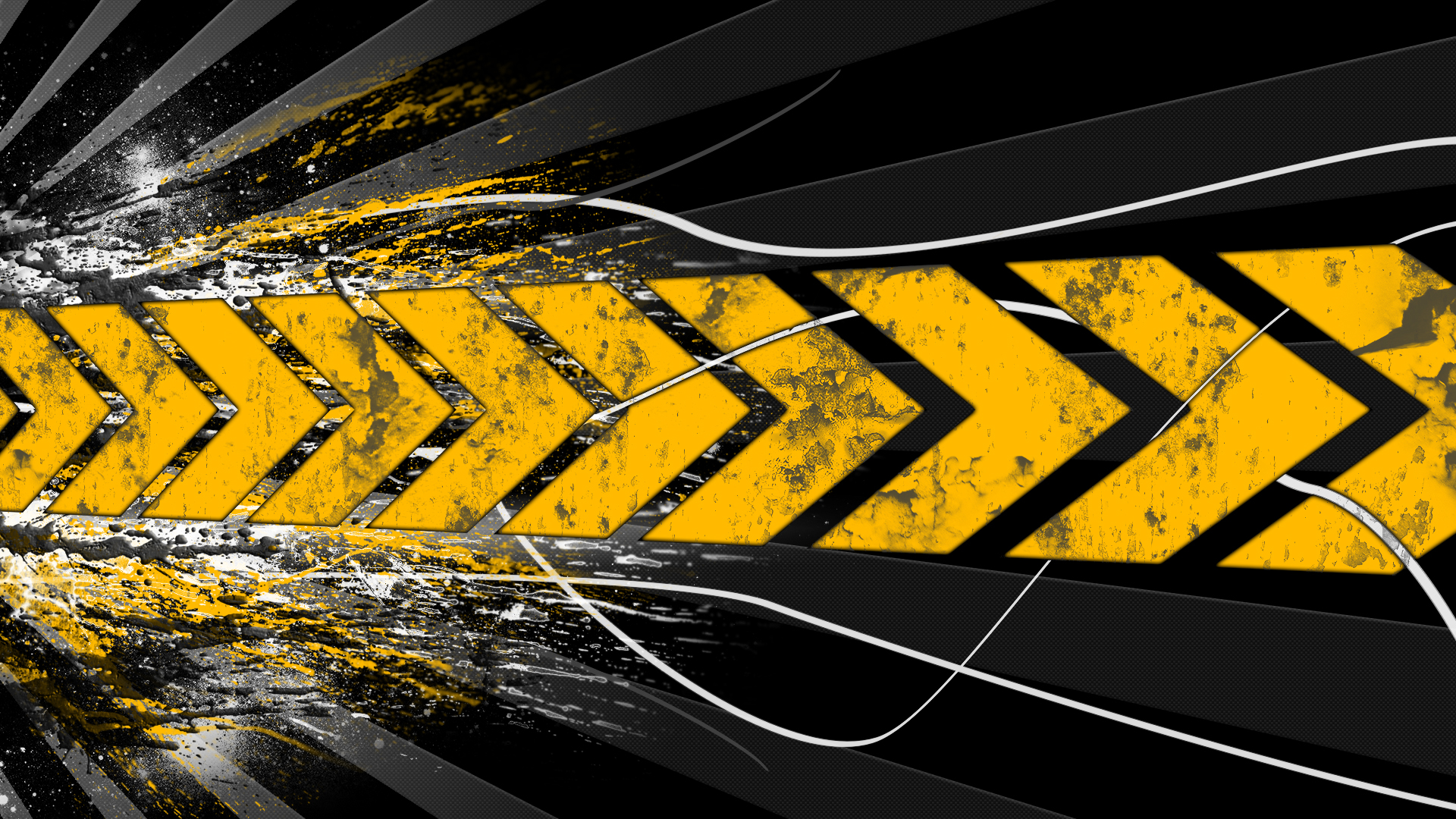 Black And Yellow Wallpapers 4 Free Wallpaper