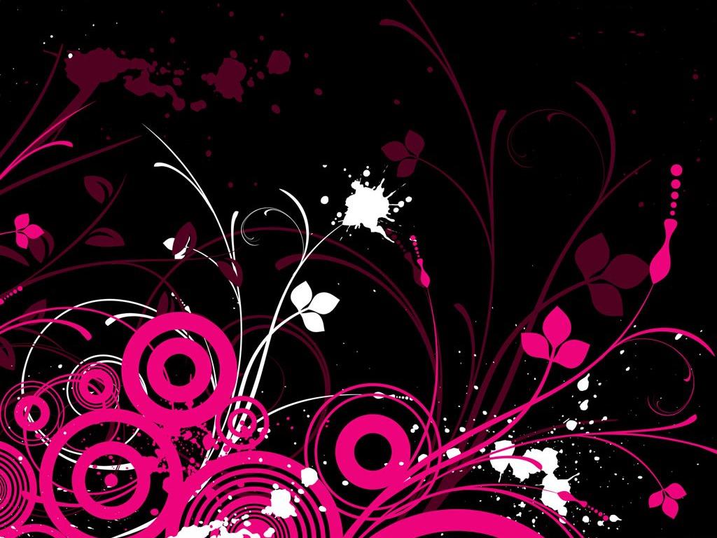 Pink Black Design