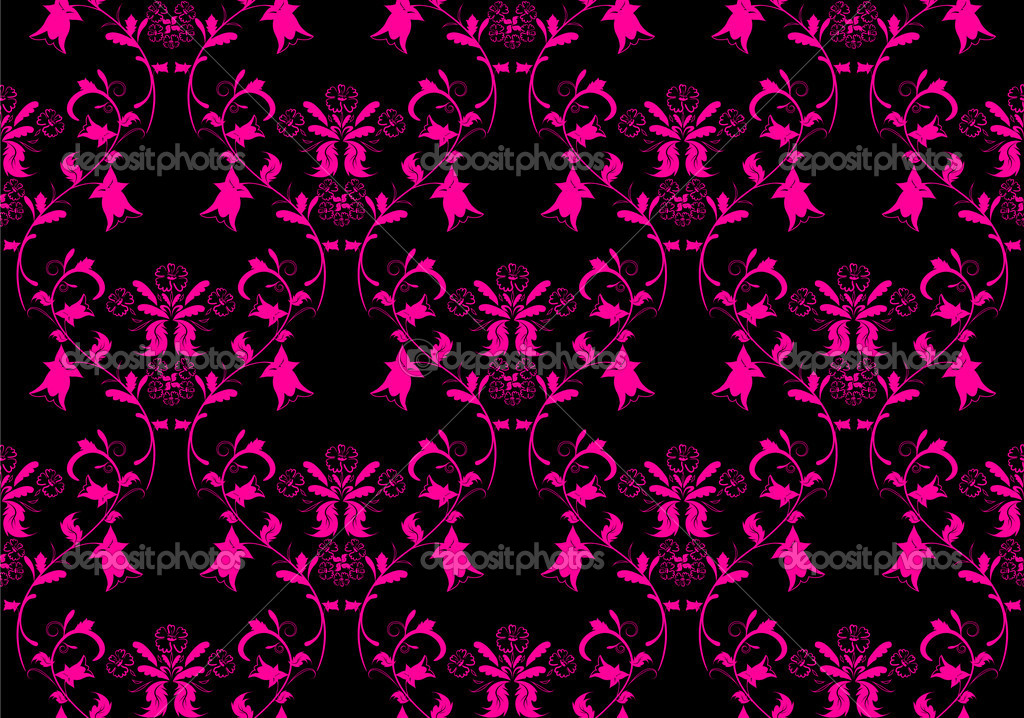 pink and black damask wallpaper ggql hd wallpaper pictures