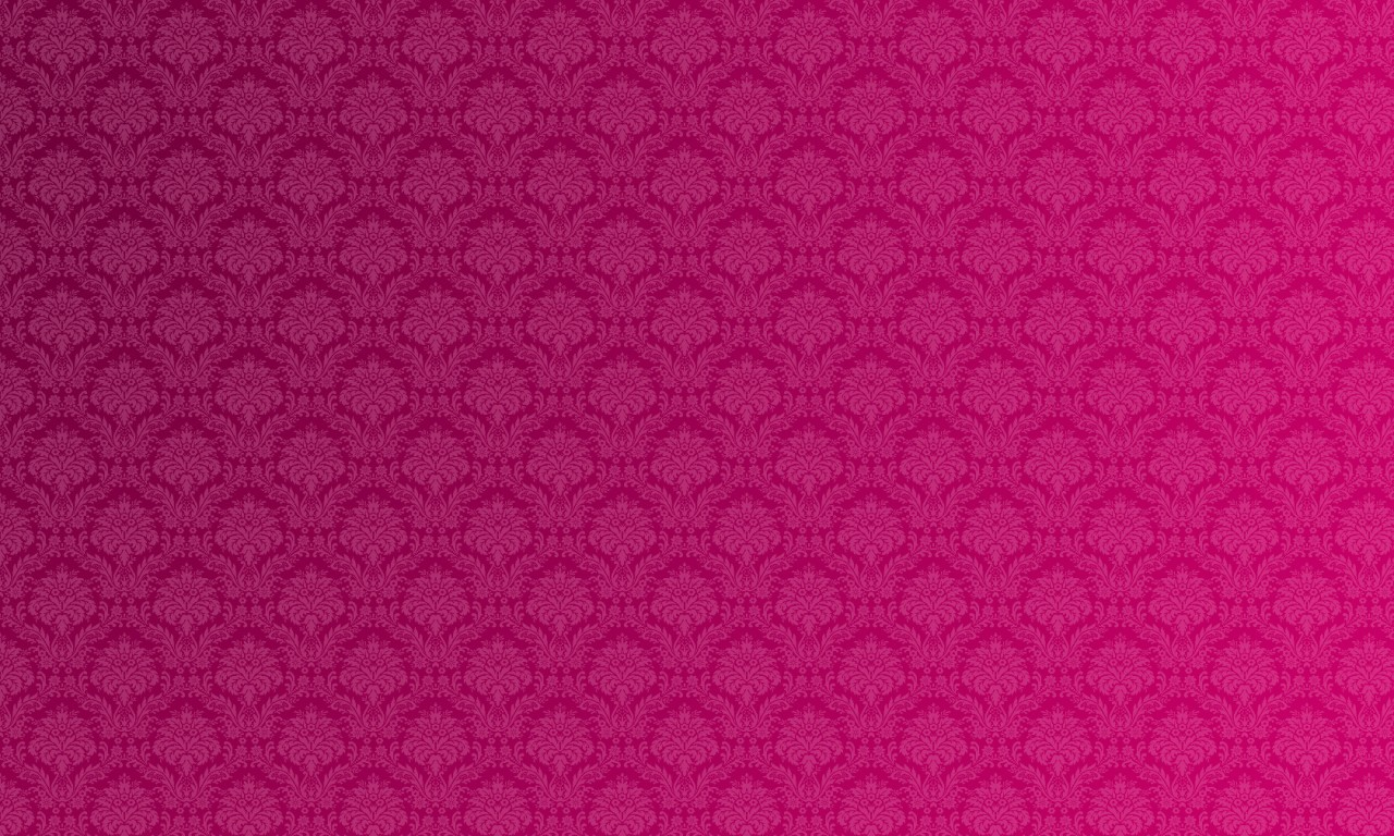 Pink and black damask background