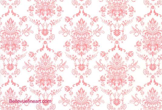 Pink Damask Wallpaper 28 Cool Hd