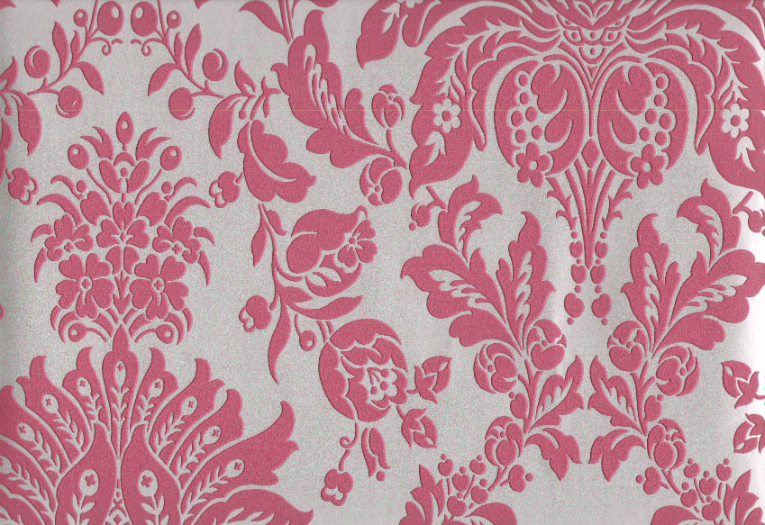Photo collection pink and silver damask for Pink and silver wallpaper