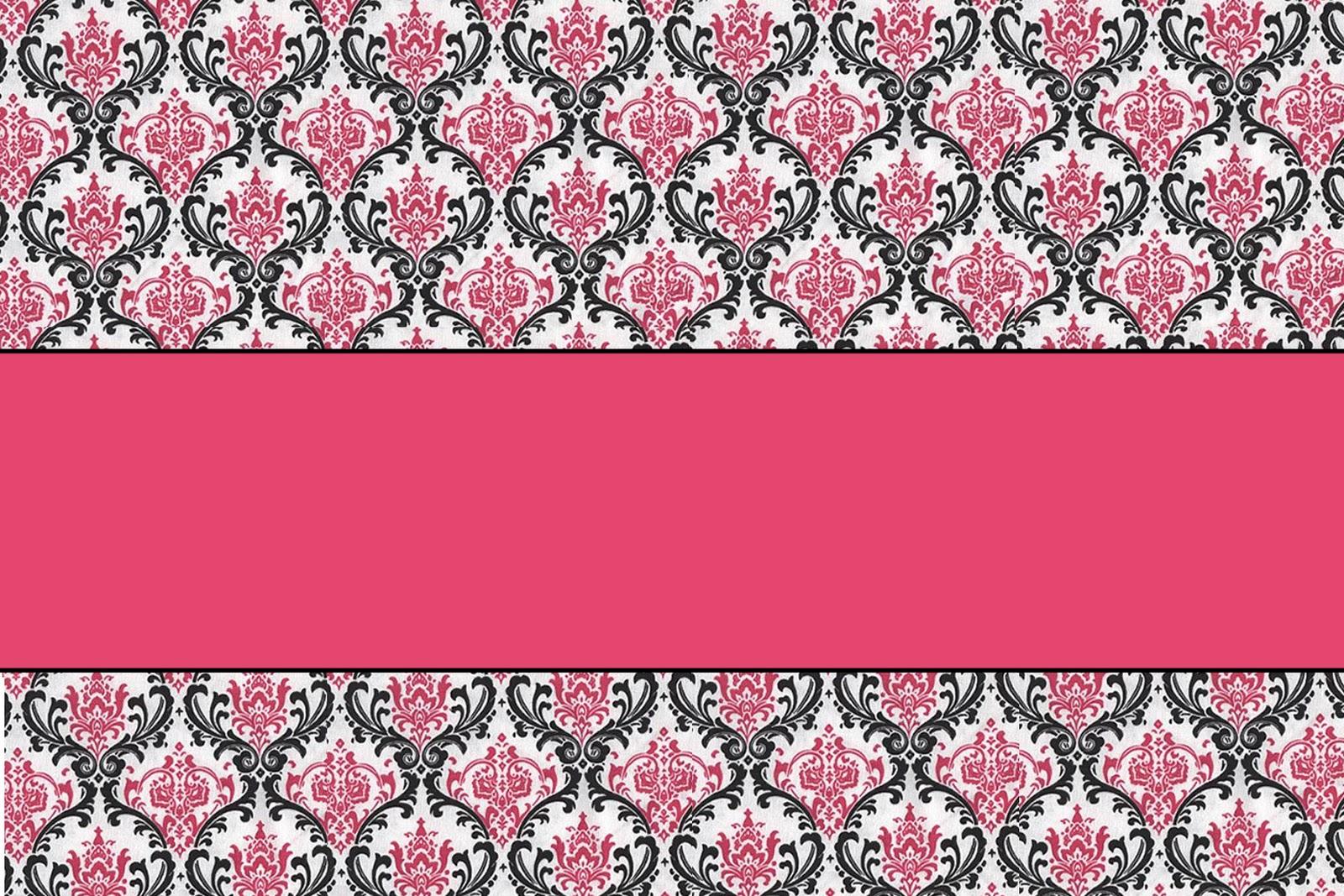 Pink Damask Wallpaper 9 High Resolution
