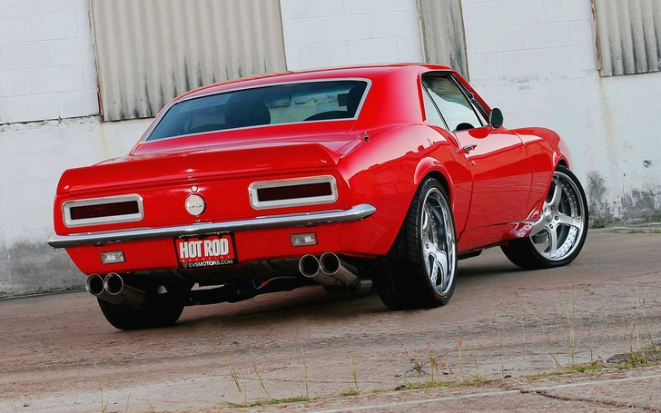 Red And Black Muscle Cars  14 Widescreen Wallpaper