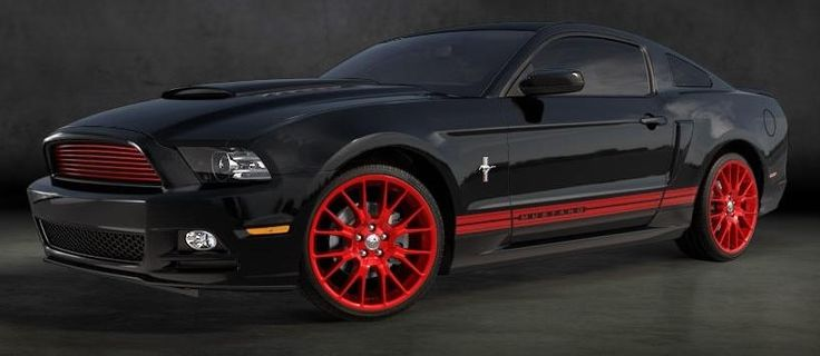 Red And Black Car Wallpapers: Red And Black Mustang Cars 4 Hd Wallpaper