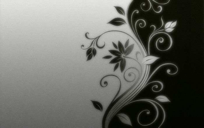 White and black wallpaper designs 15 cool wallpaper for Black wallpaper with design