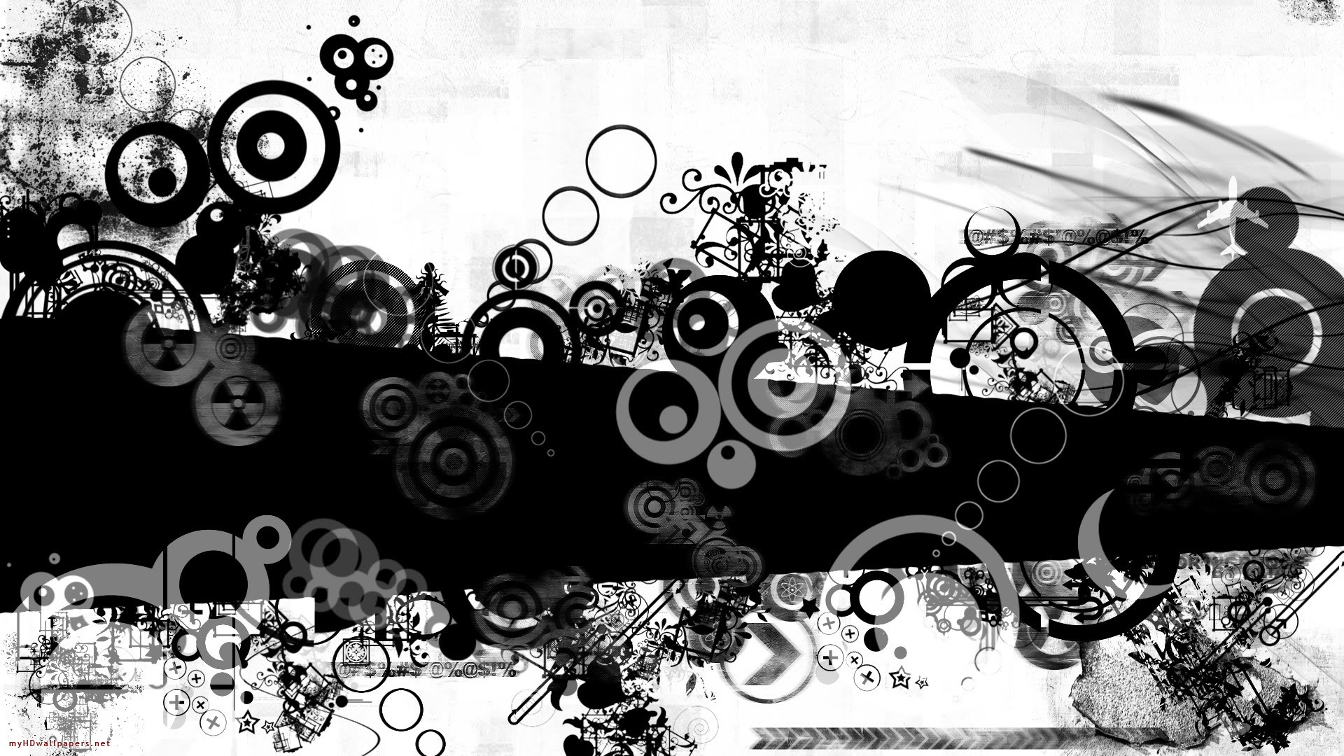 White and black wallpaper designs 6 background wallpaper for Black wallpaper with design